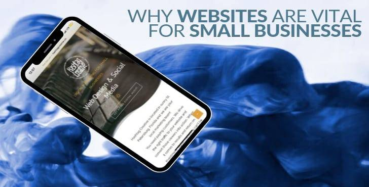 website is vital for small business